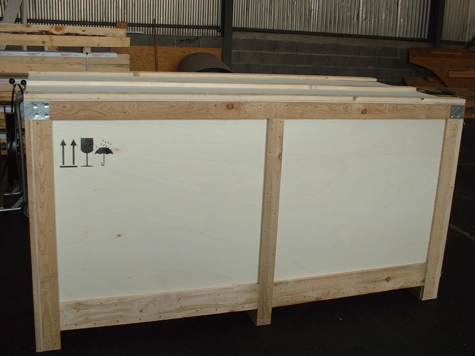 Caisserie spécifique pour calages complexes et fragile dans l'aeronautique (1)