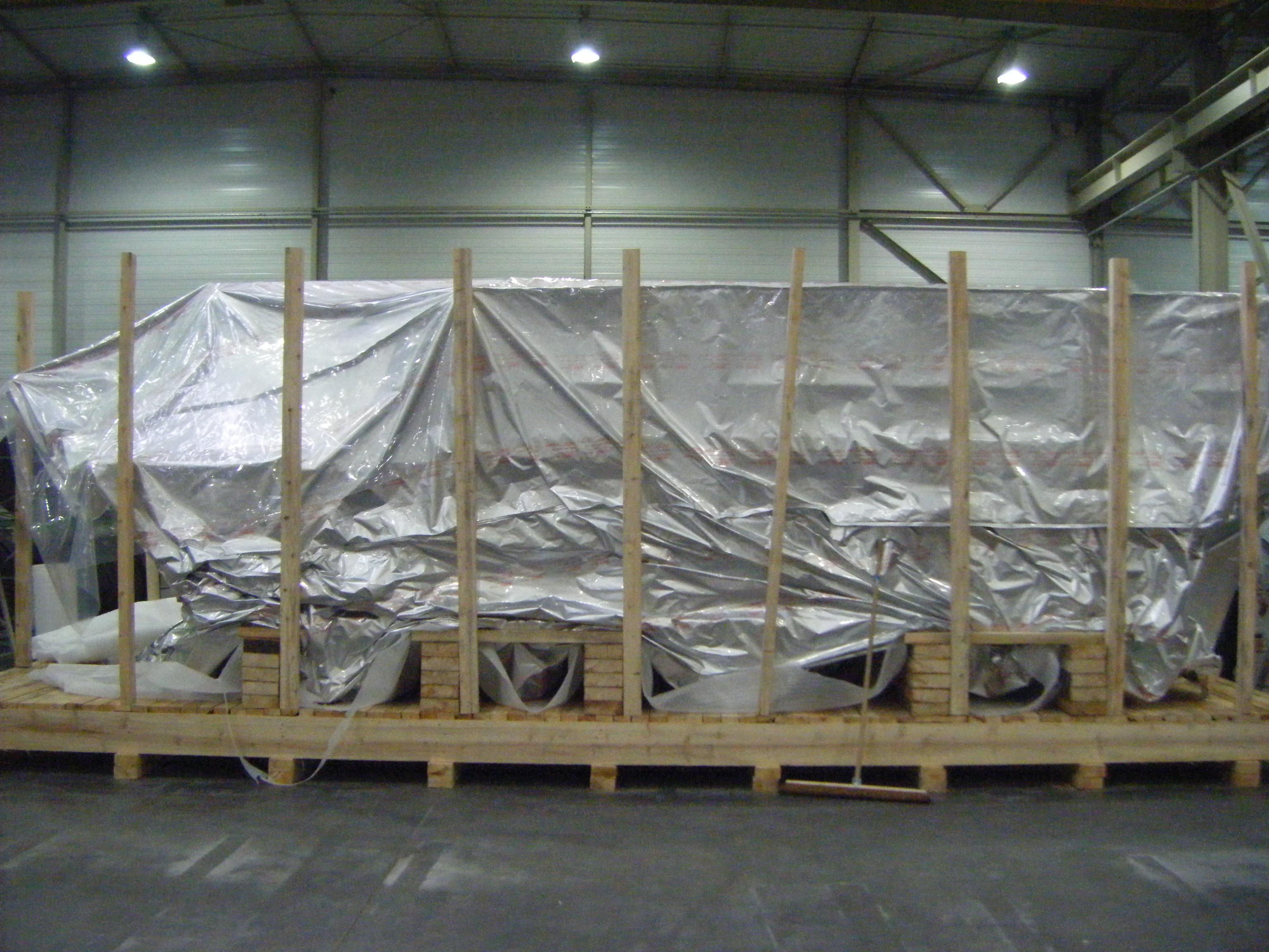 Caisserie spécifique pour calages complexes et fragile dans l'aeronautique (3)