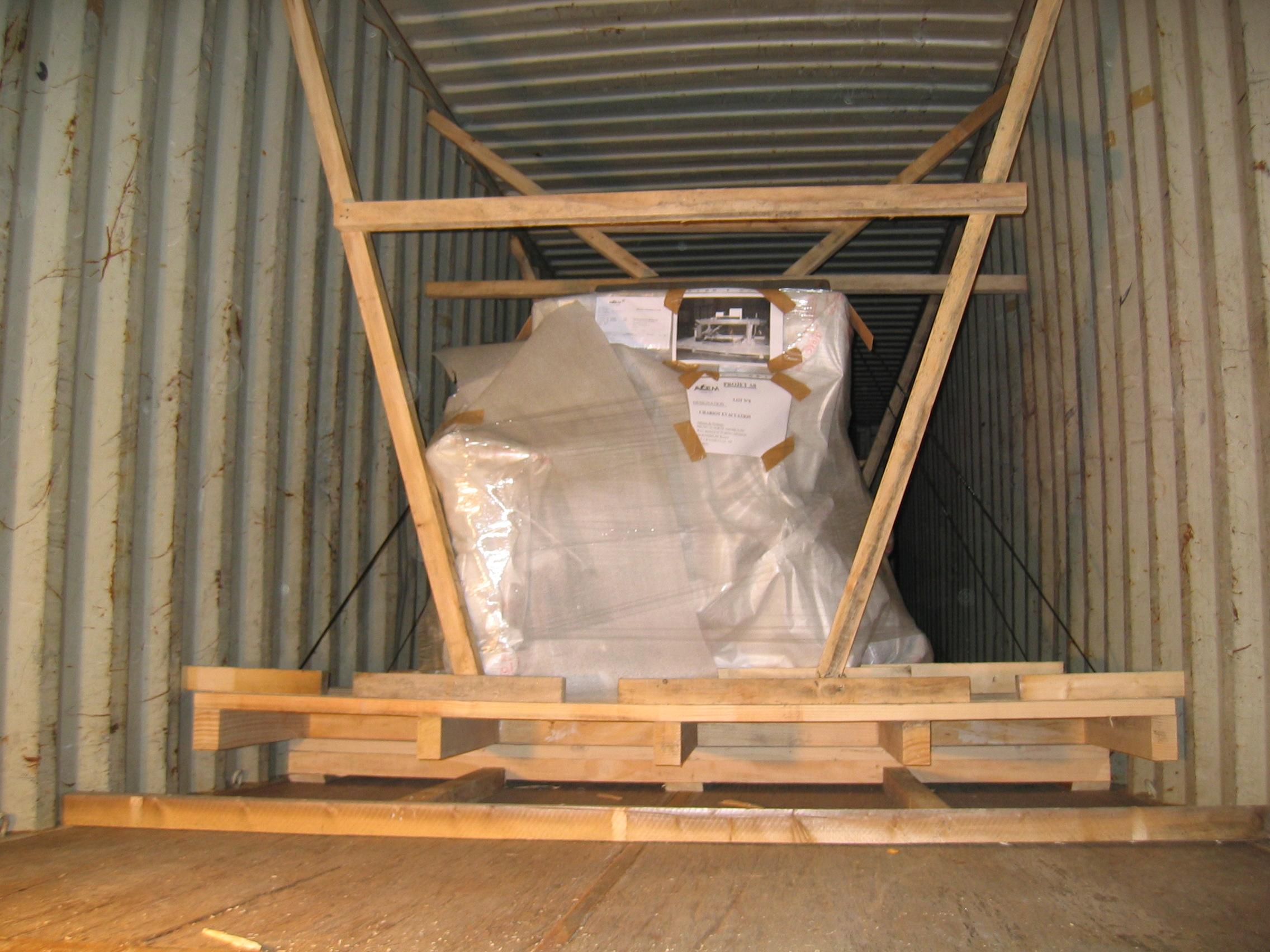 Mise en container et condannation par plomb - lagreulet SA (2)